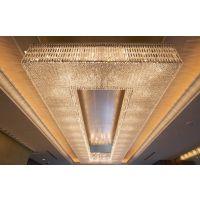 酒店大堂定制设计现代玻璃 LED灯