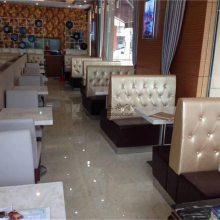 湛江港式茶餐厅卡座沙发桌椅家具定做