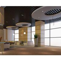 飞机场候机厅吊顶铝方通 造型铝方通厂家