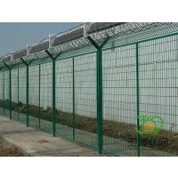 高安全刀刺监狱围栏##乌海热镀锌监狱围栏##3*3m刀刺隔离网厂家