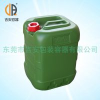 HDPE 黑豹王25L升防水桶 25kg公斤包装塑料方桶 乳胶化工桶