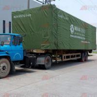 阳江篷布厂供应防水油布 挡雨布 绿色耐磨船用篷布 汽车篷布定制