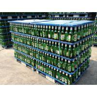 雪花啤酒瓶专用打包塑料托盘 啤酒瓶专用塑料托盘