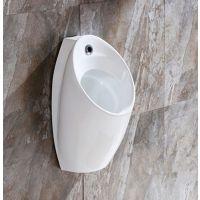 卫浴挂墙地排陶瓷男士自动感应新款小便斗小便池