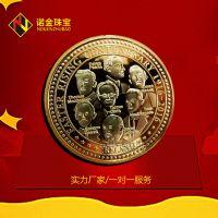 厂家定制头像纪念币 纯银纪念币 万圣节纪念章金属工艺