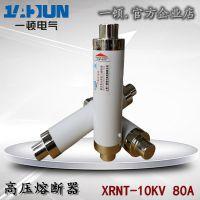 高压高分断限流熔断器XRNT1-10KV/6.3-80A100A陶瓷保险管12KV高压熔断器