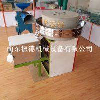 振德牌 全自动小麦面粉石磨机 五谷杂粮面粉机 粮食加工设备 热销