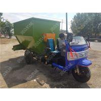 柴油动力家畜用撒料车 小型无噪音电动撒料车
