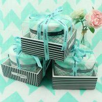 厂家定制 蛋糕毛毯 生日造型创意礼品毛巾 活动回礼盒装毛巾批发