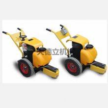 天德立600型手推式电动切桩机 7.5KW混凝土桩头切桩机 水泥管桩头切割机