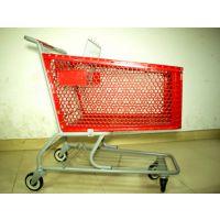 厂家直供出口品质超市手推购物车180L