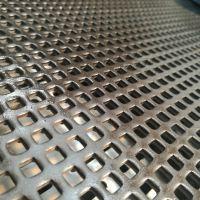 鸿运达冲网厂 定做加工SPCC材质铁板圆孔网 16猛耐磨筛板