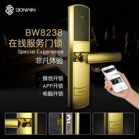 邦威BW8238在线服务智能酒店锁 无需到前台办理登记结账等手续,省时快捷