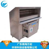 广东厂家直销两米无烟烧烤车全不锈钢制,油烟净化器等厨具设备