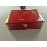 抽拉式仿古普洱茶月饼礼盒 通用高档茶叶包装木盒定做木头盒子
