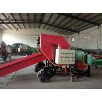 青草打捆机高效牧草打捆包膜机德泰机械专业生产小型打包机