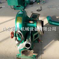 振德牌饲料齿盘式粉碎机 自动上料饲料粉碎机 厂价直供