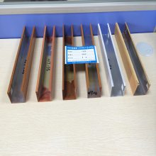 佛山欧百建材 生产铝合金U型铝方通I型材铝方通I木纹铝方通