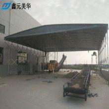 北京宣武区厂家直销伸缩雨棚布材料 户外临时仓储蓬 推拉移动雨篷