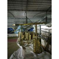厂家定制 304镜面钛金不锈钢吧台 现代中式玫瑰金吧台 大全