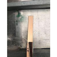温州玫瑰金栏杆扶手用304不锈钢管 玫瑰金镀色加工
