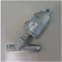 焊接式气动阀角座阀  现货供应不锈钢材质角座阀 Y型焊接角座阀