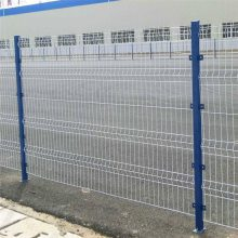 双边丝护栏网生产 防盗围墙网 城市道路护栏网标准