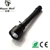 厂家批发 大功率强光手电筒 户外照明防身打猎用品