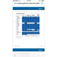 eBest 饮料行业外勤业务员销售 SFA管理工具