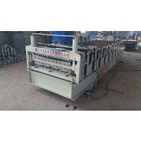 浩鑫压瓦机厂家现货供应850-900彩钢压瓦机