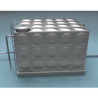 供应佛山地区金号JH-09 0.5-3000T不锈钢生活给水箱瓶 保温方型水箱