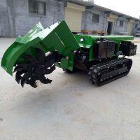 新款果树施肥机 普航30马力柴油自走式开沟回填机 多功能履带拖拉机价格