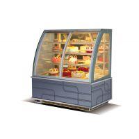 威雪达前开门蛋糕柜冷藏展示柜弧形直角风冷柜寿司熟食甜品西点水果保鲜柜