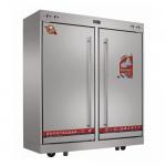 供应亿高RTP700H远红外线高温大二门不锈钢消毒柜 商用餐具消毒柜