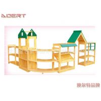 低价销售辽阳幼儿园实木玩具柜 幼儿园配套设施