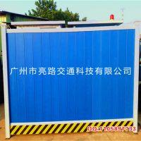 广州供应PVC围挡 环保围档 地铁施工护栏 建筑工地工程安全隔离围挡