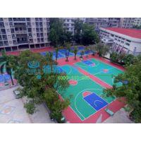 标准篮球场设计铺设 运动球场工程经济快捷 标准篮球场设计铺设