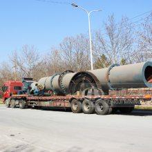 镀锌厂污泥干燥处理设备投资,规格1.2x10米现场视频