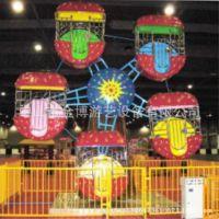 户外大型游乐设备儿童单面观览车 小型摩天轮 欢乐世界游乐设施厂