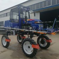 新型志成牌农用打药机 大型四轮喷药车 ZC-700型撒肥打药一体机操作简单