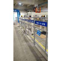 青岛地区厂家供应铝型材车间隔离网仓库护栏网喷塑处理选科尔福