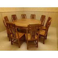 河间商务休闲榆木餐桌椅供应商