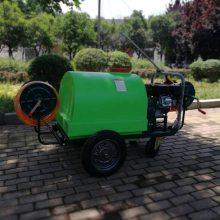 生产直销自动卷管喷雾器小型手推打药车300L大容量喷药机
