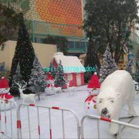 青岛泡沫北极熊雕塑美陈