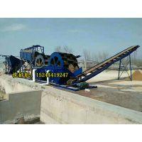 河南安阳沙场旱地轮式洗沙机械整套设备生产厂家