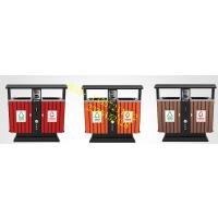 南宁市政垃圾桶供应商,市政垃圾桶专供商 广西南宁户外分类垃圾桶