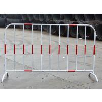 红白反光膜铁马厂家现货供应黄黑铁马护栏批发定制