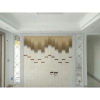 供应内蒙古时尚渐变颜色 简约电视墙艺术玻璃 出口品质