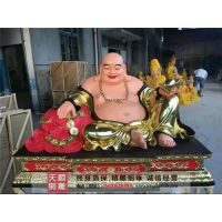 江苏弥勒佛|天顺雕塑(图)|贴金大度铜弥勒佛