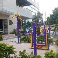 清远公园全民健身器材颜色 114管锻炼设备图片 户外健身器材大全找雅浩